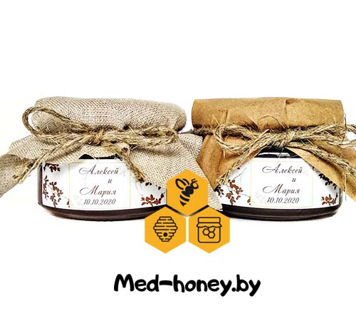 мед в бонбоньерках