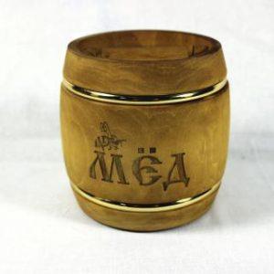 Бизнес-сувенир с логотипом бочонок с мёдом