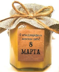 Корпоративные подарки женщинам на 8 марта - http://med-honey.by