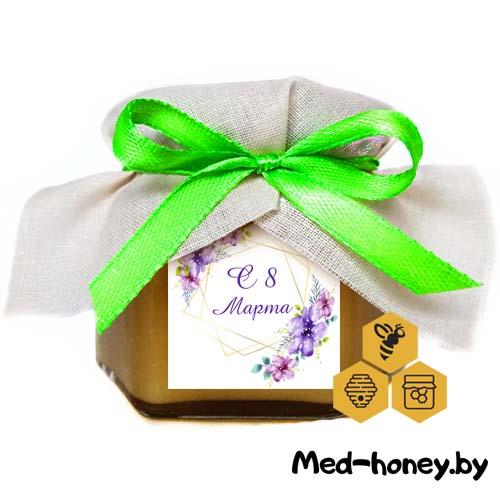 подарочный мед на 8 марта