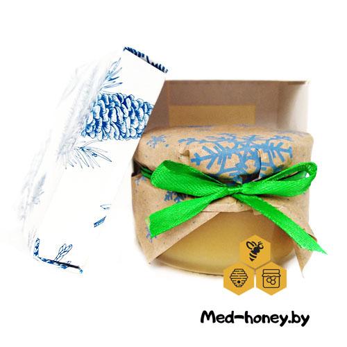мед в подарочной коробке