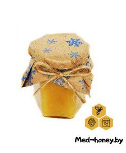 подарочный мед на новый год