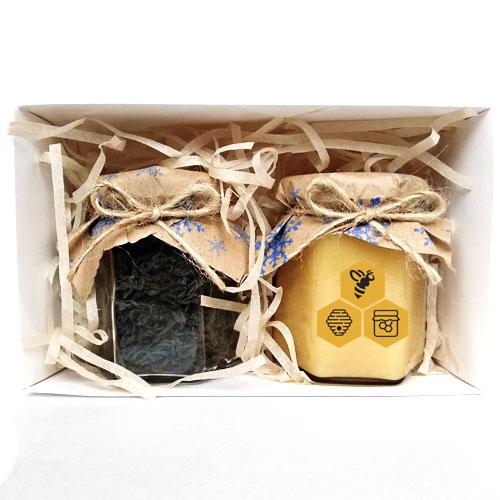 подарочный набор с медом и чаем